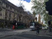 Swanston St and Melbourne Town Hall